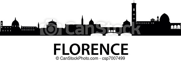 Skyline Florence - csp7007499