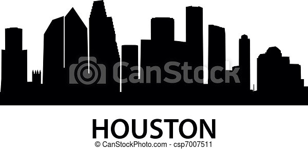 skyline houston - csp7007511