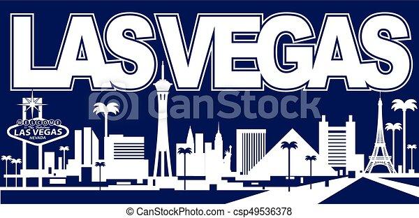 Las Vegas Skyline - csp49536378