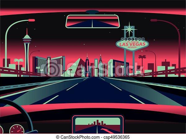 Las Vegas Skyline - csp49536365