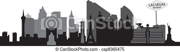 Las Vegas Skyline - csp8365475