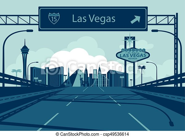 Las Vegas Skyline - csp49536614
