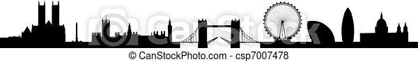 Skyline London - csp7007478