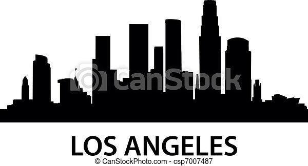 Skyline Los Angeles - csp7007487