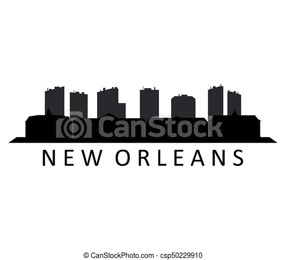 skyline new orleans - csp50229910