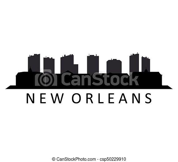 skyline new orleans - csp50229910