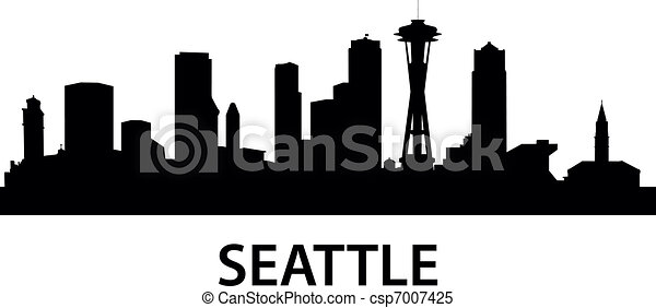 Skyline Seattle - csp7007425