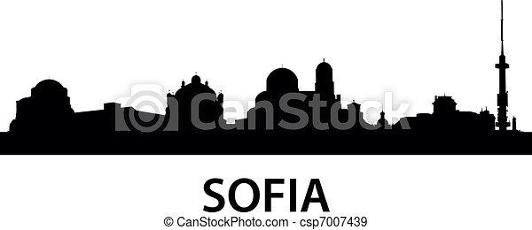 Skyline Sofia - csp7007439