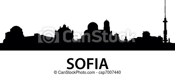 Skyline Sofia - csp7007440