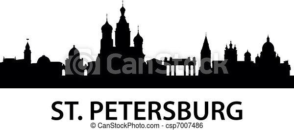 Skyline St. Petersburg - csp7007486