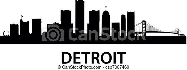skyline_detroit - csp7007460