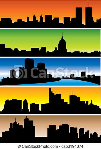 Skylines Clip Art Vector Graphics 45009 EPS Clipart And Stock Illustrations Available To Search From Thousands Of Royalty Free