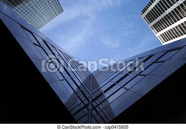 skyscraper abstract - csp0415935