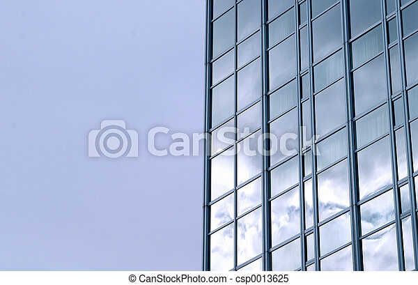 Skyscraper and sky - csp0013625