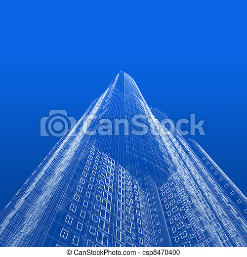 architecture blueprints skyscraper. Perfect Blueprints Skyscraper Blueprint  Csp8470400 Inside Architecture Blueprints S
