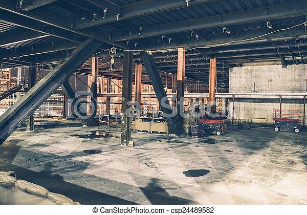 Skyscraper Construction - csp24489582