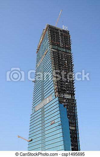 Skyscraper construction - csp1495695