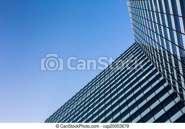 skyscraper from down below  - csp20053679