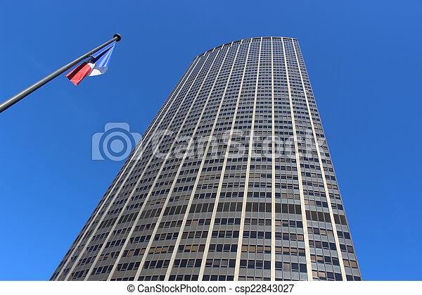 Skyscraper in France - csp22843027