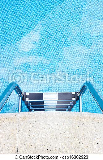 slå samman, simning - csp16302923