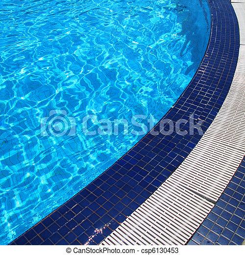 slå samman, simning - csp6130453