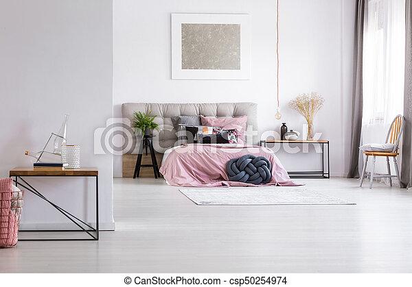 Roze Slaapkamer Accessoires.Slaapkamer Schilderij Ruim Zilver