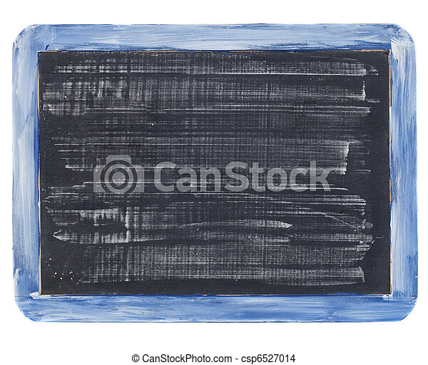 slate blackboard with chalk texture - csp6527014