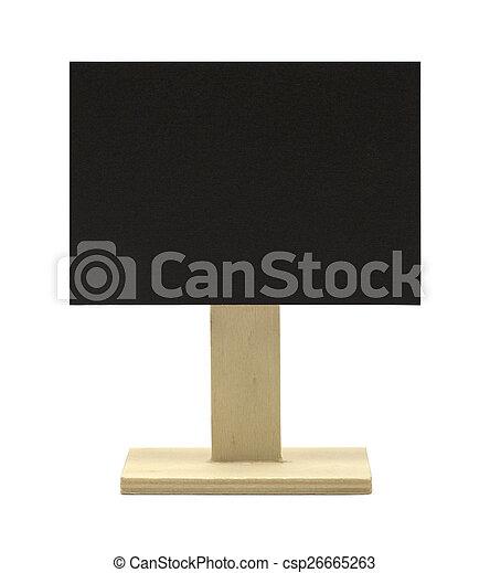 Slate Sign - csp26665263