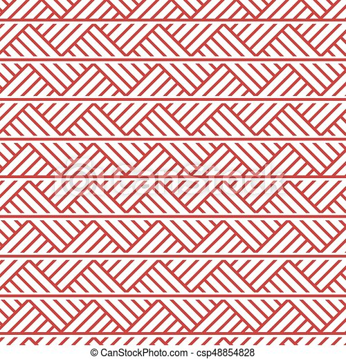 slavic ornament seamless pattern - csp48854828