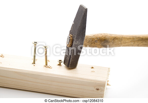 Sledge with Screws and scantling - csp12084310