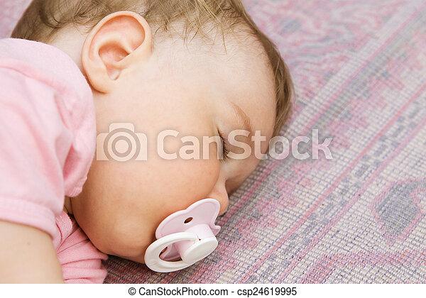Sleeping baby - csp24619995
