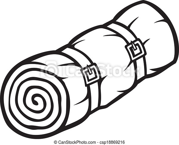 sleeping bag - csp18869216