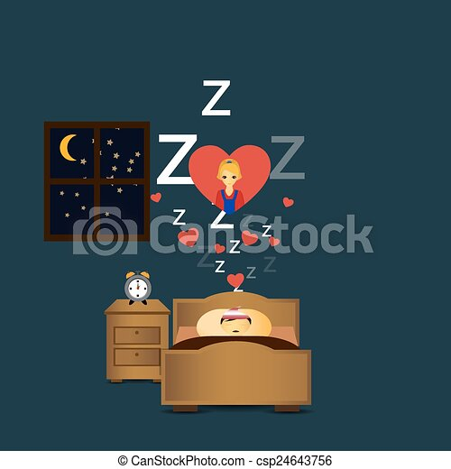 Sleeping Persondreaming Love
