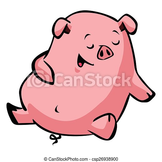 sleepy happy pig vector clipart search illustration drawings and rh canstockphoto com pig vector art pig vector art