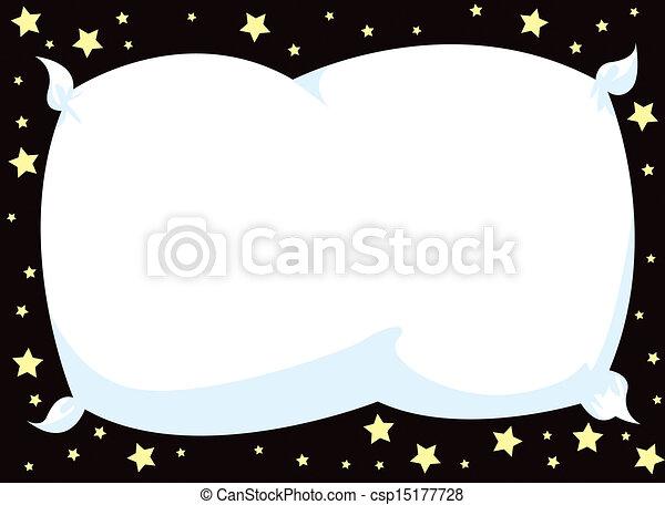 Sleepy pillow frame - csp15177728