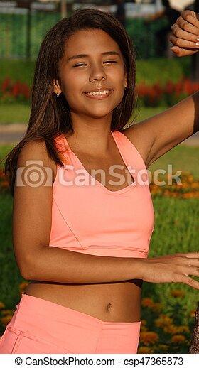 Slender Teen Girl