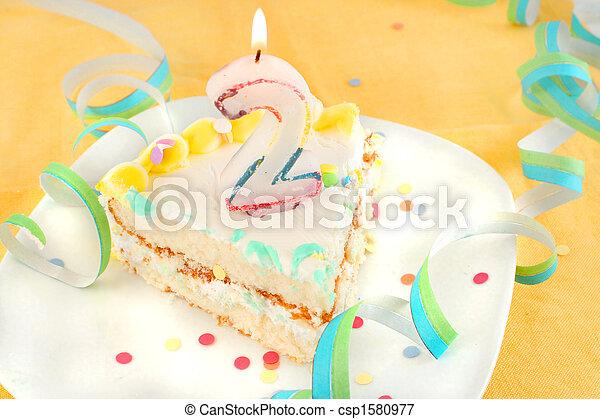 Awesome Slice Second Birthday Cake Slice Of Second Birthday Cake With Lit Funny Birthday Cards Online Eattedamsfinfo