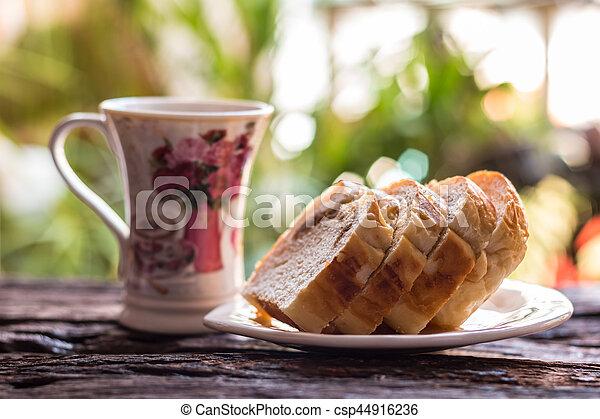 Sliced bread - csp44916236
