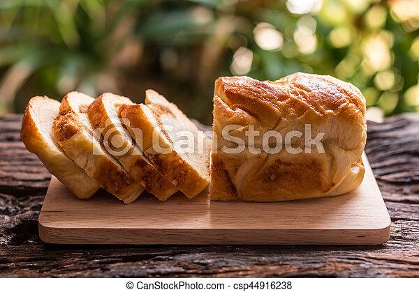 Sliced bread - csp44916238