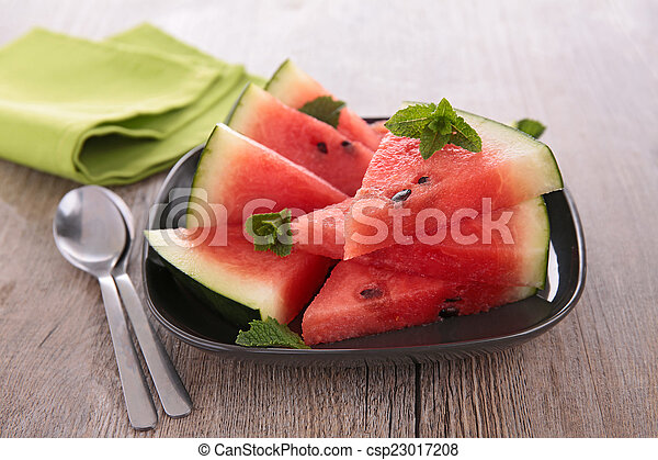 sliced of watermelon - csp23017208