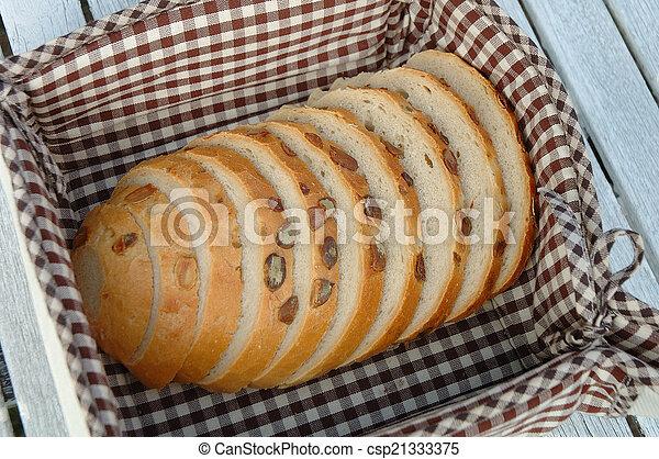 Slices of bread - csp21333375