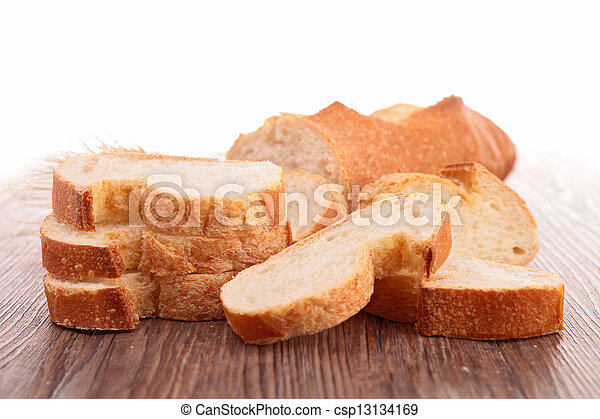 slices of bread - csp13134169