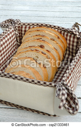 Slices of bread - csp21333461
