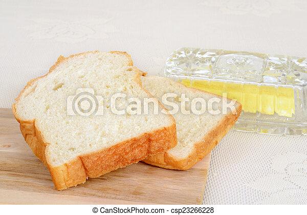 slices of bread - csp23266228