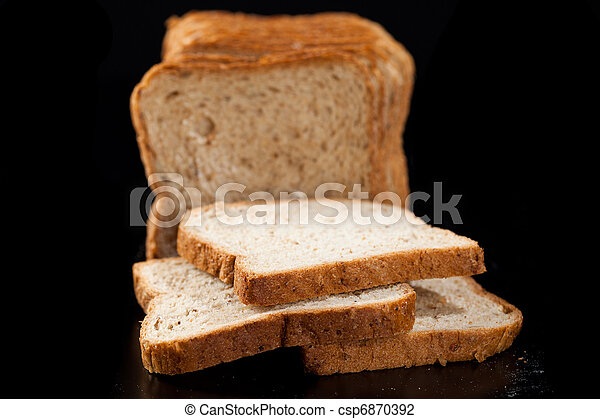Slices of bread - csp6870392