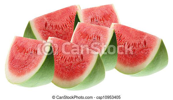 Slices of Watermelon - csp10953405