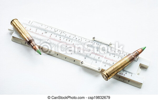 Slide rule and ammo - csp19832679