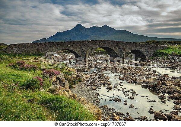 Sligachan bridge in Scotland - csp61707867