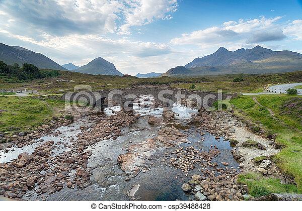 Sligachan on the Isle of Skye - csp39488428