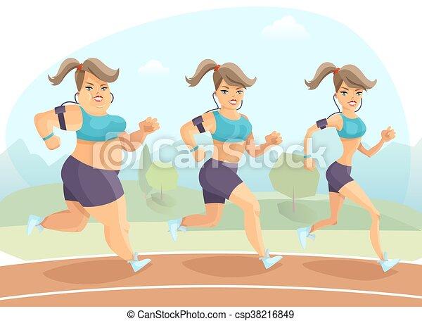 Ilustración femenina - csp38216849